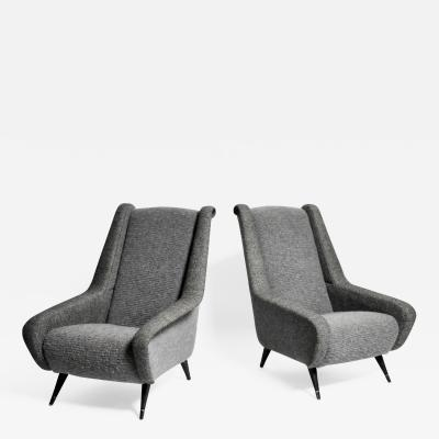 Pair of Mid Century Modern French Chairs