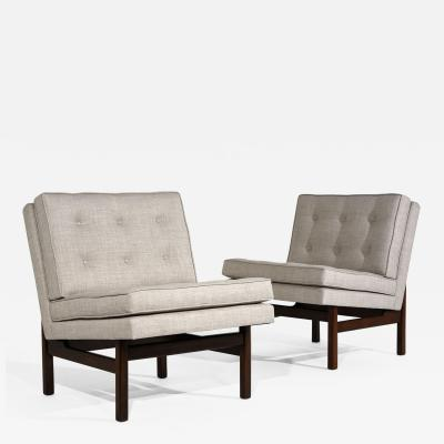 Pair of Mid Century Modern Style Slipper or Lounge Chairs