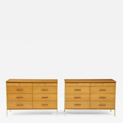 Pair of Mid Century Modern chests Paul McCobb for Directional