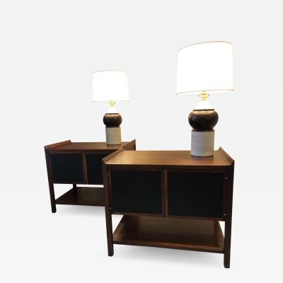 Pair of Mid Century Modern side cabinets