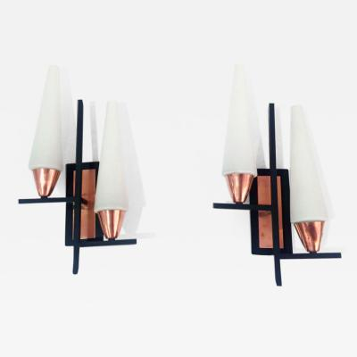 Pair of Mid Century Wall Sconces