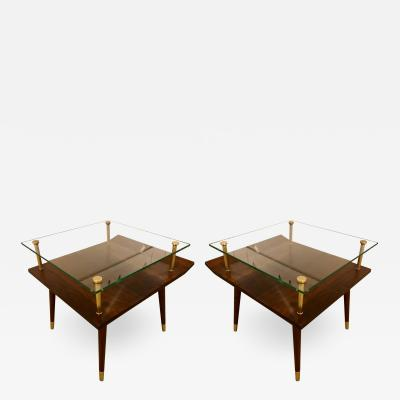Pair of Mid Century side tables