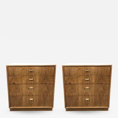 Pair of Mid Century small chest