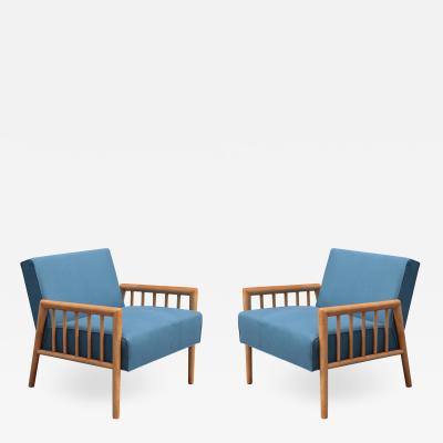 Pair of Mid century Armchairs by Conant Ball Furniture Co