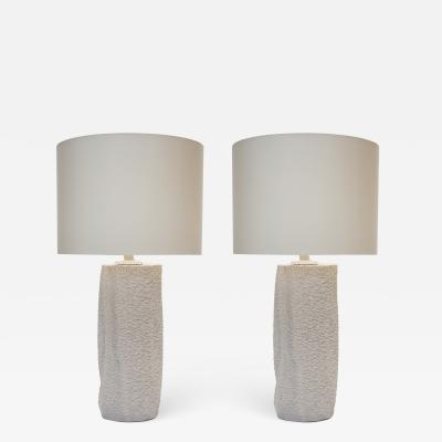 Pair of Modern Ceramic Table Lamps