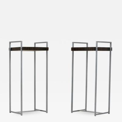 Pair of Modern style Macassar Side Tables