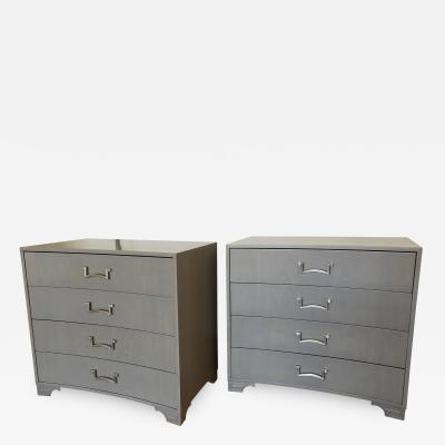 Pair of Modernist Dressers Designed by Lorin Jackson for Grosfeld House