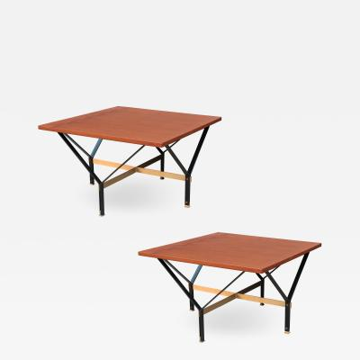 Pair of Modernist Low Cocktail Tables