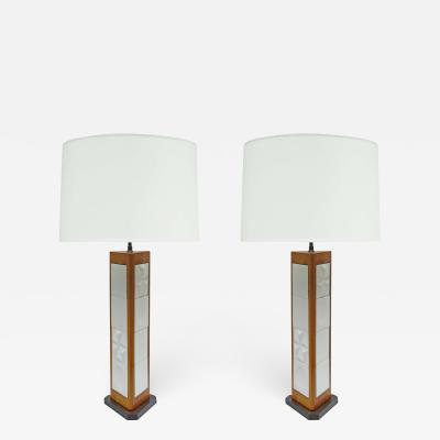 Pair of Modernist Table Lamps By George Nelson