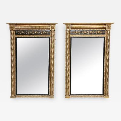 Pair of Neoclassical Pier Mirrors