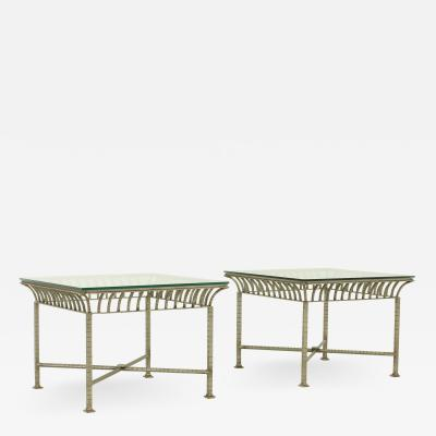 Pair of Neoclassical Side Tables From 1960s