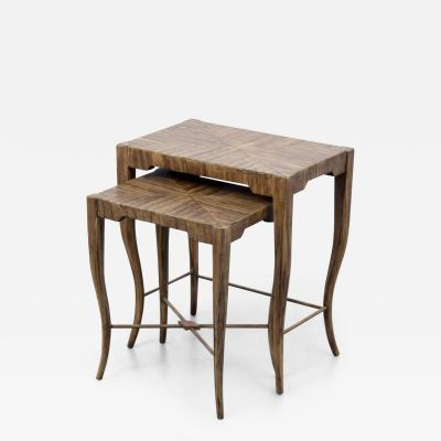 Pair of Nesting Tables Manner of Tommi Parzinger