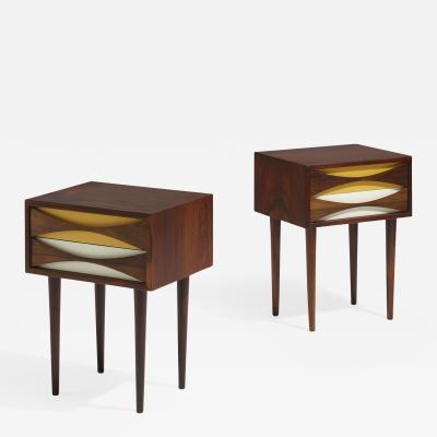 Pair of Niels Clausen Nightstands side tables