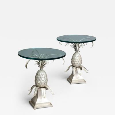 Pair of Pineapple Side Tables