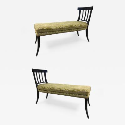 Pair of Regency Style Daybeds