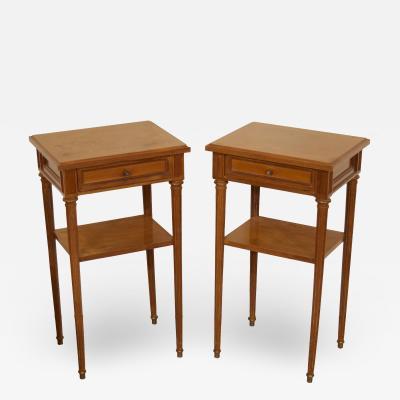 Pair of Regency Style Nightstands or End Tables