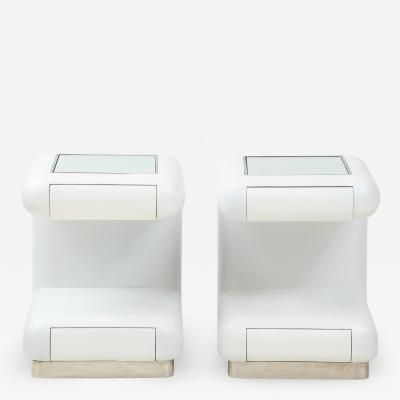 Pair of Ron Seff Night stands End tables