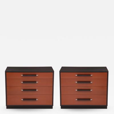 Pair of Saarinen Chests for Johnson Furniture