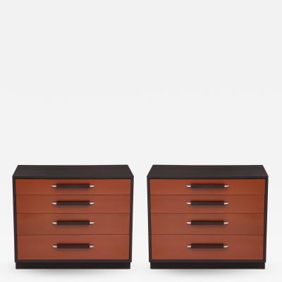 Pair of Saarinen Chests for Johnson Furniture