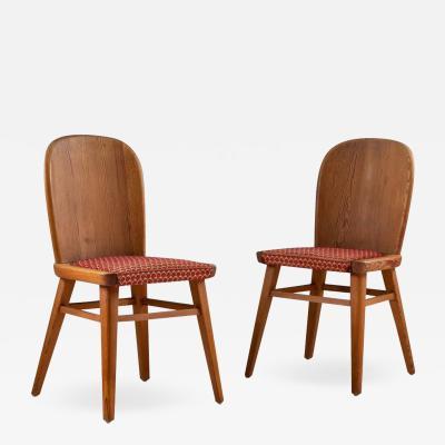 Pair of Scandinavian Chairs in Pine