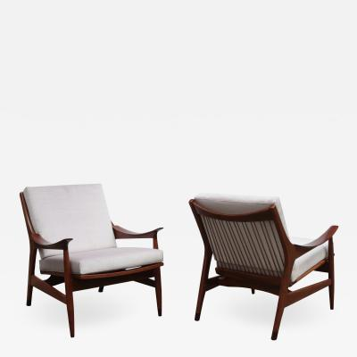 Pair of Scandinavian Modernist Armchairs