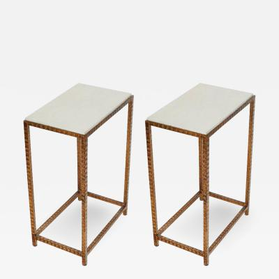 Pair of Shagreen Side Tables