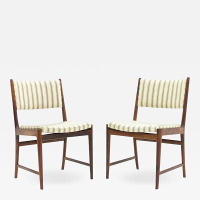 Pair of Side Chairs by Kai Lyngfeldt Larsen for S ren Willadsen Denmark 1960s