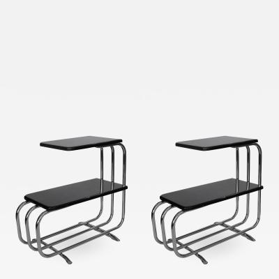 Pair of Side Tables by Alfons Bach