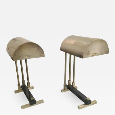 Pair of Signed Elite Diamant Table Lamps NY 1938