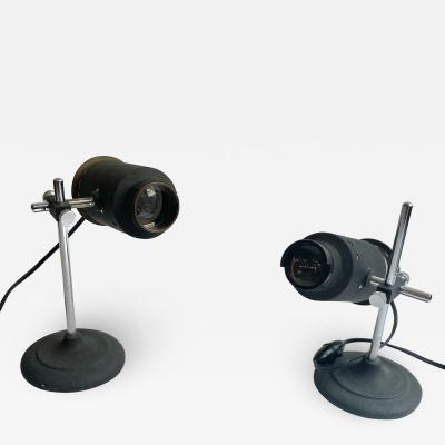 Pair of Small Projector Lamps