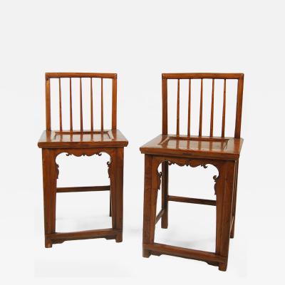 Pair of Spindleback Chairs