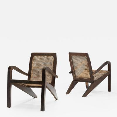 Pair of Sri Lankan Lounge Chairs Sri Lanka Late 20th Century