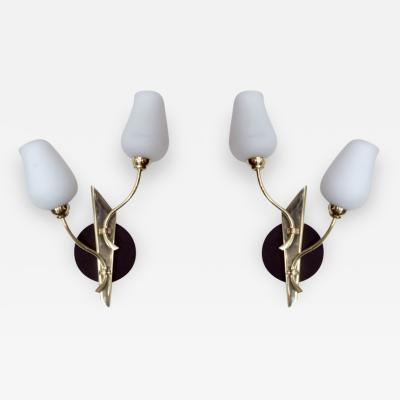 Pair of Stylish Wall Sconces