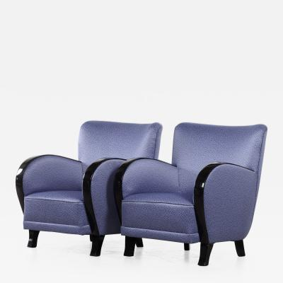 Pair of Swedish Art Deco Armchairs circa 1930