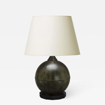 Pair of Swedish Modern Classicism table lamp