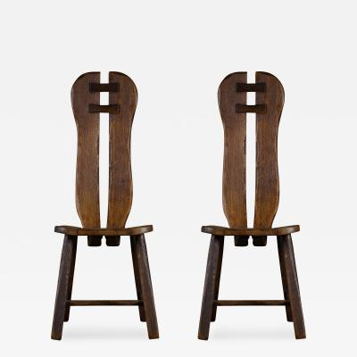 Pair of Swedish Side Chairs