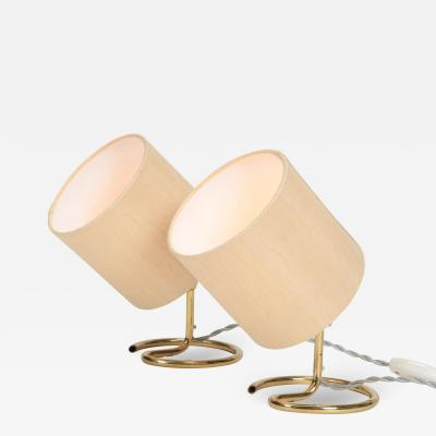 Pair of Swiss M gal lamps