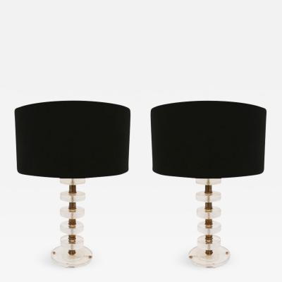 Pair of Table Lamps Italia 1960