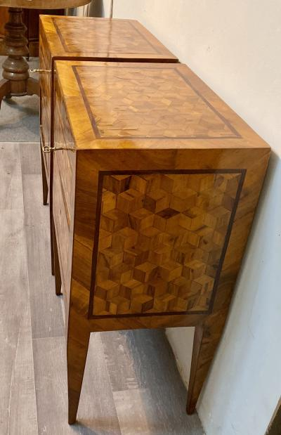 Pair of Tuscan Tables