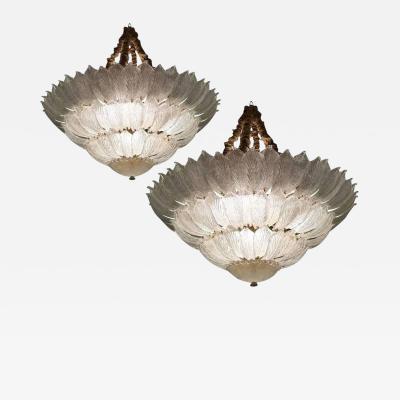 Pair of Venetian Ceiling Lights