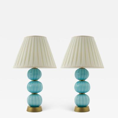 Pair of Vintage Italian Table Lamps