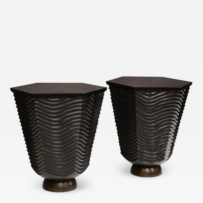 Pair of Wave Tables by David Ebner