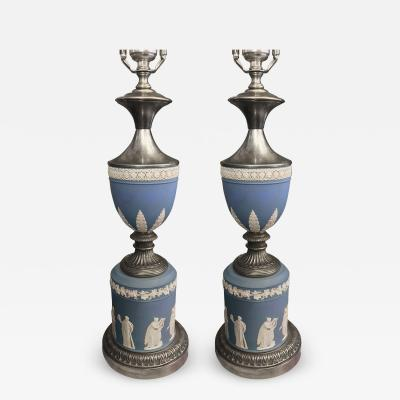Pair of Wedgwood Table Lamps