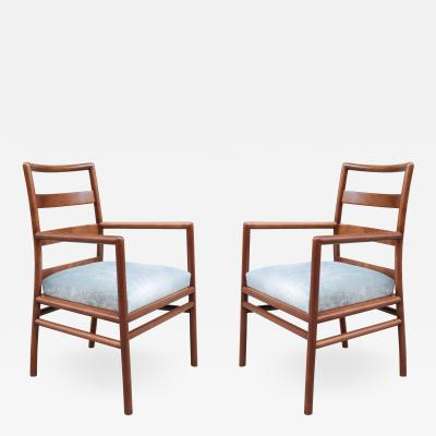 Pair of Widdicomb Armchairs by T H Robsjohn Gibbings