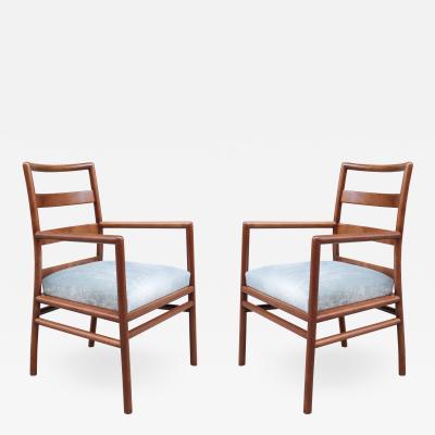 Pair of Widdicomb Armchairs by T H Robsjohn Gibbings