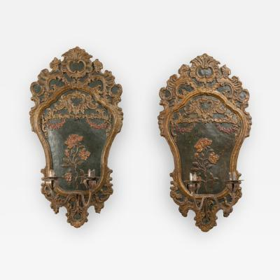 Pair of italian 18th century sconces