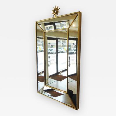 Pair of rectangular mirrors Italy 1980