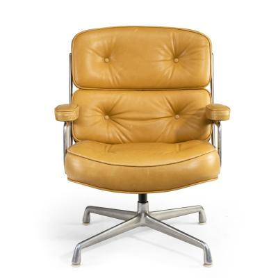 Pair of swivel Time Life Chairs designed for Herman Miller 1960