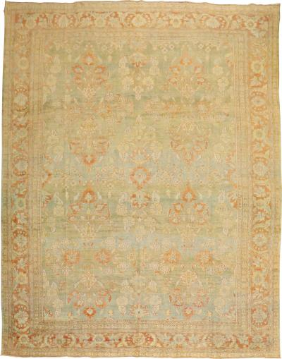 Pale Persian Mahal Rug rug no j1905