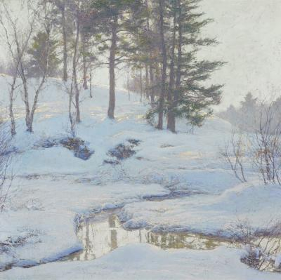 Walter Launt Palmer Winter Reflections